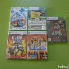 Videojuegos y Consolas: LOTE 5 JUEGOS XBOX 360 PRECINTADOS. Lote 150168630