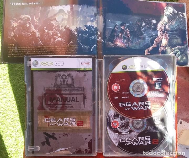 Videojuegos y Consolas: GEARS OF WAR 2 EDICION LIMITADA PAL-UK - Foto 2 - 150236370