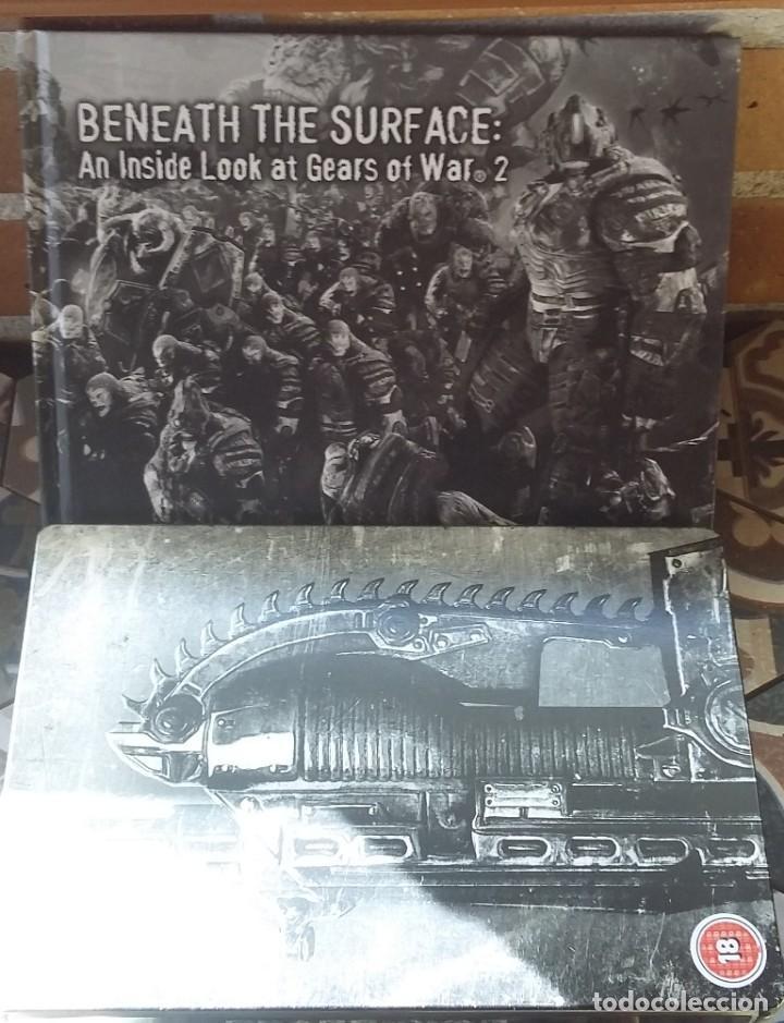 Videojuegos y Consolas: GEARS OF WAR 2 EDICION LIMITADA PAL-UK - Foto 4 - 150236370