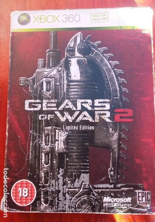GEARS OF WAR 2 EDICION LIMITADA PAL-UK (Juguetes - Videojuegos y Consolas - Microsoft - Xbox 360)