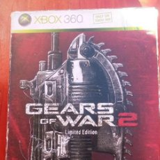 Videojuegos y Consolas: GEARS OF WAR 2 EDICION LIMITADA PAL-UK. Lote 150236370