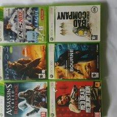 Videojuegos y Consolas: LOTE 6 JUEGOS XBOX 360. Lote 150558818