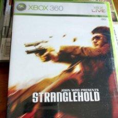 Videojuegos y Consolas: XBOX360 STRANGLEHOLD MICROSOFT XBOX 360 PAL ESPAÑA NUEVO PRECINTADO. Lote 150606722
