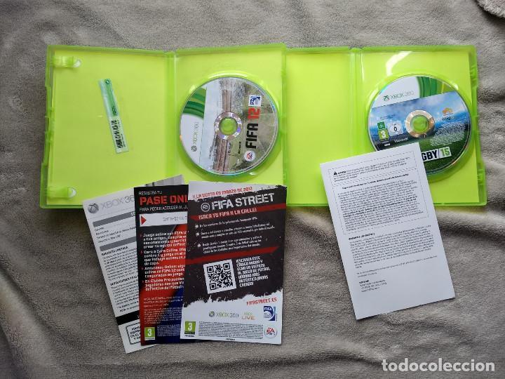 Videojuegos y Consolas: FIFA 12 + RUGBY 15. XBOX 360. - Foto 2 - 150638518