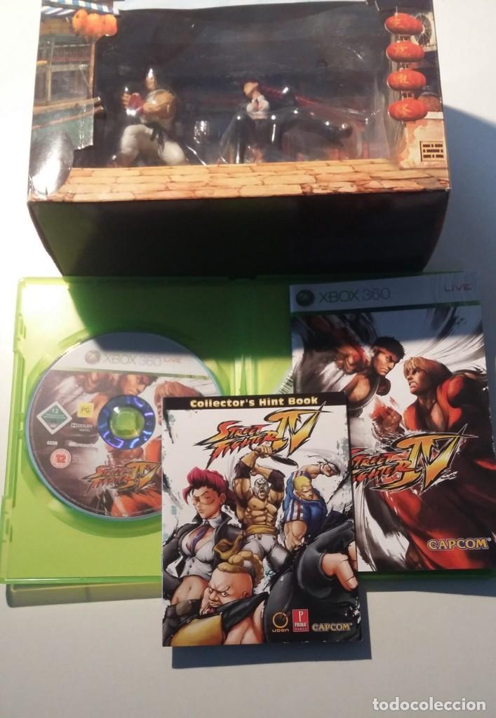 STREET FIGHTER IV, XBOX EDICION COLECCIONISTA, COMPLETO Y MUY BUEN ESTADO (Juguetes - Videojuegos y Consolas - Microsoft - Xbox 360)