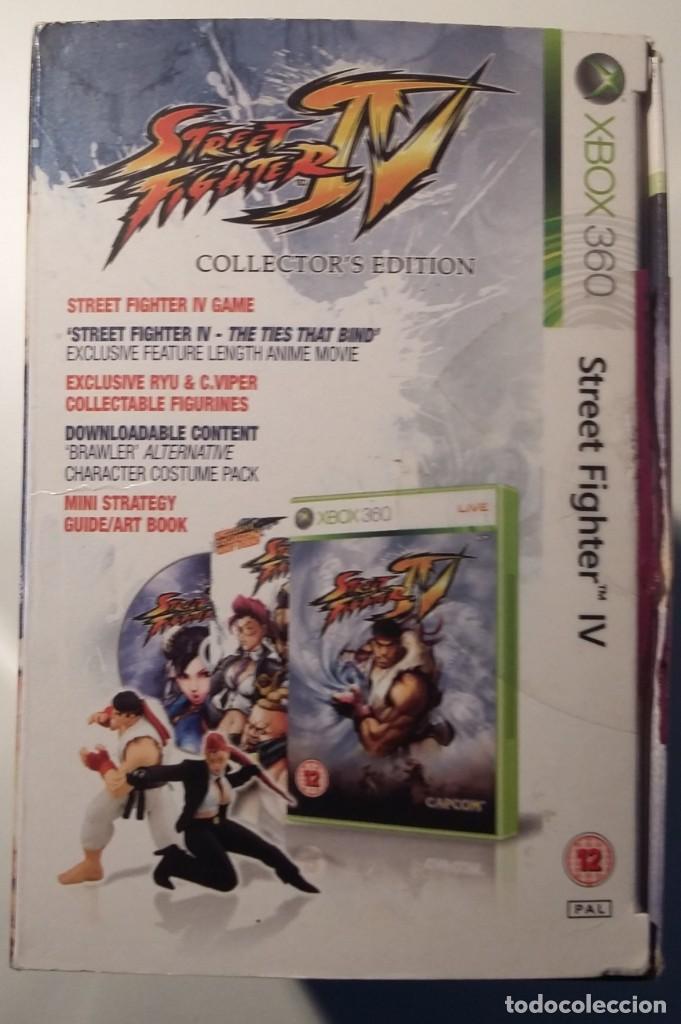 Videojuegos y Consolas: STREET FIGHTER IV, XBOX EDICION COLECCIONISTA, COMPLETO Y MUY BUEN ESTADO - Foto 2 - 150763562