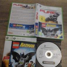 Videojuegos y Consolas: XBOX 360 PURE / LEGO BATMAN PAL ESP (SIN PURE). Lote 151240054