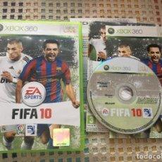 Videojuegos y Consolas: FIFA 10 XBOX 360 X360 X-360 MICROSOFT EA SPORTS KREATEN. Lote 151325602