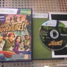 Videojuegos y Consolas: KINECT ADVENTURES REQUIRES KINEC SENSOR MICROSOFT XBOX X360 X-360 KREATEN. Lote 151325946