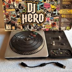 Videojuegos y Consolas: CONSOLA DJ HERO XBOX 360 EN CAJA - 37 X 23.CM. Lote 151333942
