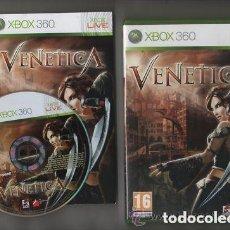 Videojuegos y Consolas: JUEGO XBOX 360 VENETICA. Lote 151339022