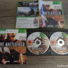 Videojuegos y Consolas: XBOX 360 BATTLEFIELD HARDLINE PAL ESP COMPLETO. Lote 151428606