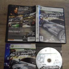 Videojuegos y Consolas: XBOX 360 NEED FOR SPEED MOST WANTED PAL ESP COMPLETO. Lote 151428942