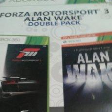 Videojuegos y Consolas: FORZA MOTORSPORT 3/ ALAN WAKE. Lote 151533844