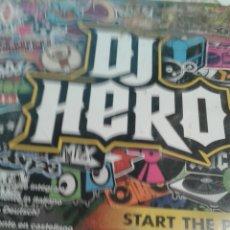 Videojuegos y Consolas: DJ HERO (EN INGLÉS). Lote 151540685