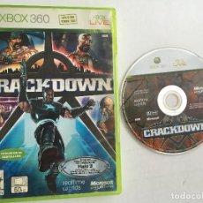 Videojuegos y Consolas: CRACKDOWN CRACK DOWN 1 XBOX 360 X-BOX X360. Lote 151545946