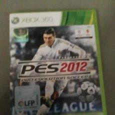 Videojuegos y Consolas: VIDEOJUEGO XBOX 360 PES 2012. Lote 151552442