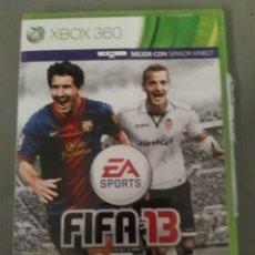 Videojuegos y Consolas: VIDEOJUEGO XBOX 360 FIFA 13. Lote 151552486