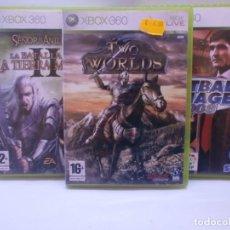 Videojuegos y Consolas: LOTE DE JUEGOS XBOX 360. Lote 151945830