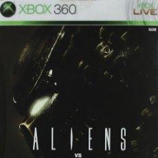 Videojuegos y Consolas: ALIEN VS PREDATOR (EDICIÓN COLECCIONISTA-ESTUCHE METALICO) XBOX 360. Lote 52575209