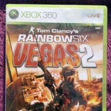 Videojuegos y Consolas: JUEGO XBOX 360 *RAIBOW SIX VEGAS 2* UN CLASICO - 2008. Lote 114468371