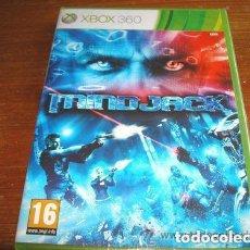 Videojuegos y Consolas: JUEGO XBOX 360 MINDJACK. Lote 152376938