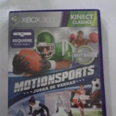 Videojuegos y Consolas: MOTIONSPORTS. JUEGA DE VERDAD. KINECT. XBOX 360.. Lote 152813298
