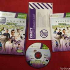 Videojuegos y Consolas: JUEGO XBOX 360 KINECT SPORTS. Lote 153117190