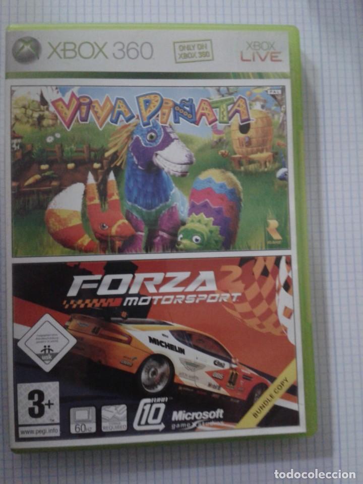 VIVA PINATA + FORZA MOTORSPORT 2. XBOX 360 (Juguetes - Videojuegos y Consolas - Microsoft - Xbox 360)