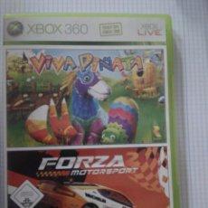 Videojuegos y Consolas: VIVA PINATA + FORZA MOTORSPORT 2. XBOX 360. Lote 153131278