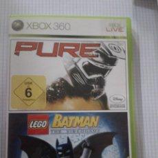 Videojuegos y Consolas: PURE/LEGO BATMAN. XBOX 360. Lote 153133810