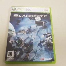 Videojuegos y Consolas: J- BLACKSITE XBOX 360 VERSION ESPAÑOLA CON MANUAL . Lote 153959742
