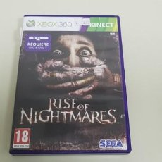 Videojuegos y Consolas: J- RISE OF NIGHTMARES XBOX 360 VERSION ESPAÑOLA CON MANUAL. Lote 153963118