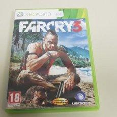 Videojuegos y Consolas: J-FARCRY 3 XBOX 360 VERSION ESPAÑOLA SIN MANUAL . Lote 153969094