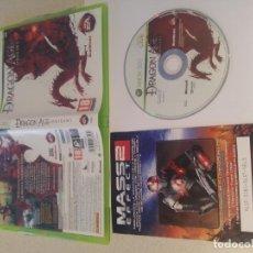 Videojuegos y Consolas: DRAGON AGE ORIGINS XBOX 360 XBOX360 PAL-ESPAÑA. Lote 154375714