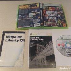 Videojuegos y Consolas: GTA 4 IV GRAND THEFT AUTO XBOX 360 XBOX360 PAL-ESPAÑA. Lote 154375822