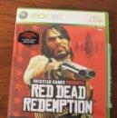 Videojuegos y Consolas: RED DEAD REDEMPTION. XBOX 360. EN CAJA, CON INSTRUCCIONES. Lote 154927174