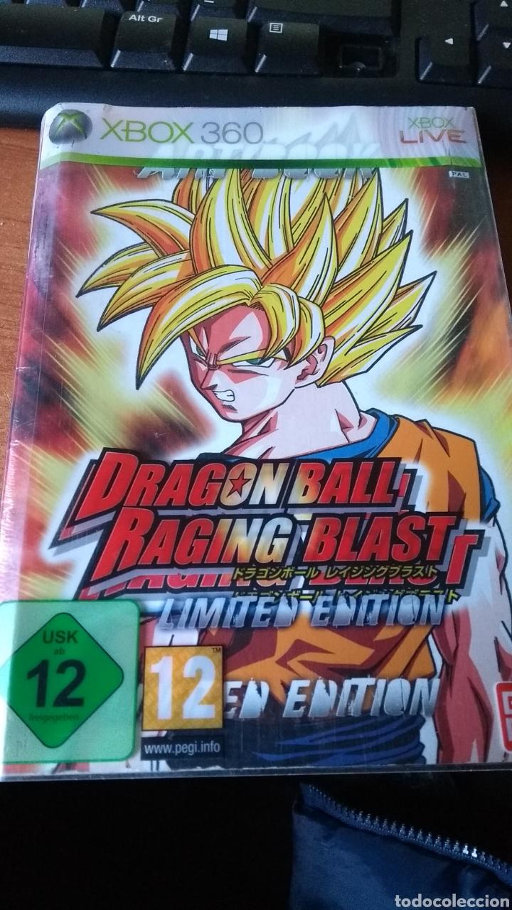 DRAGON BALL RACING BLAST EDICIÓN LIMITADA VER FOTOS (Juguetes - Videojuegos y Consolas - Microsoft - Xbox 360)