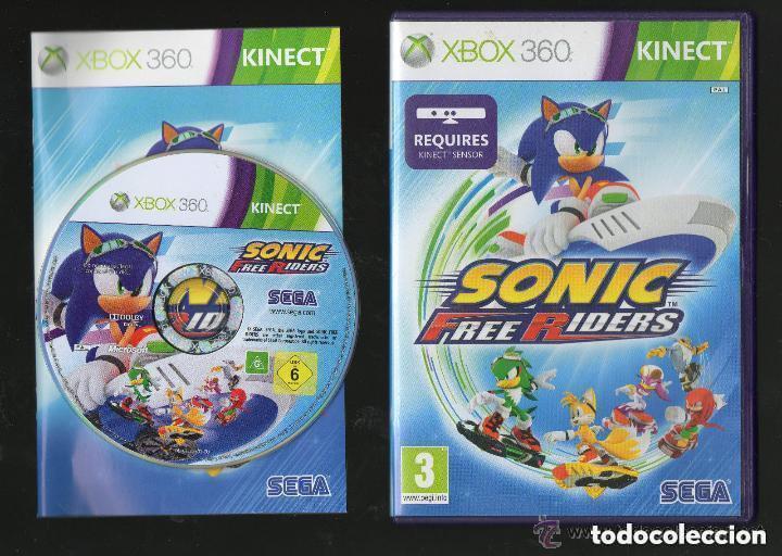 JUEGO XBOX 360 SONIC FREE RIDERS (Juguetes - Videojuegos y Consolas - Microsoft - Xbox 360)
