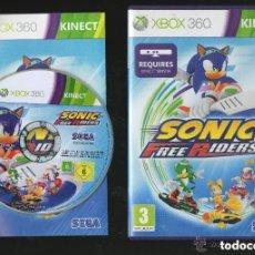 Videojuegos y Consolas: JUEGO XBOX 360 SONIC FREE RIDERS. Lote 155717230