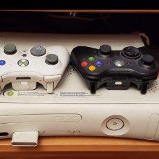 Videojuegos y Consolas: AVERIADA XBOX 360 ARCADE, 2MANDOS Y CABLEADO. Lote 156611026