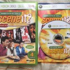 Videojuegos y Consolas: SCENE IT GRANDES EXITOS DE TAQUILLA TIPO BUZZ SING IT XBOX 360 X360 KREATEN. Lote 157527458