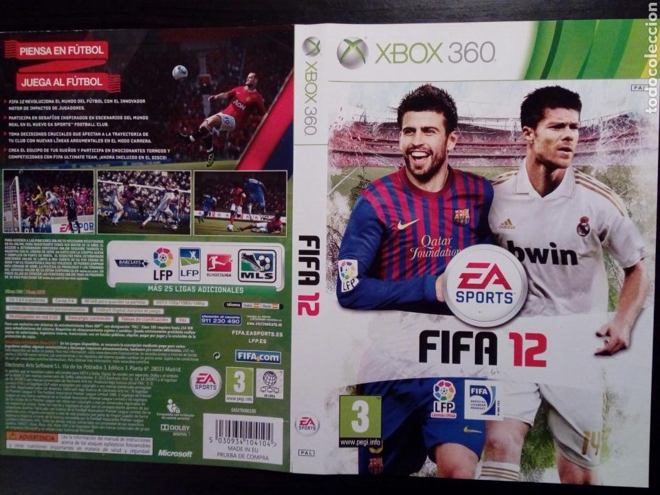 (SOLO CARATULA) FIFA 12 - ORIGINAL - XBOX 360 - (Juguetes - Videojuegos y Consolas - Microsoft - Xbox 360)