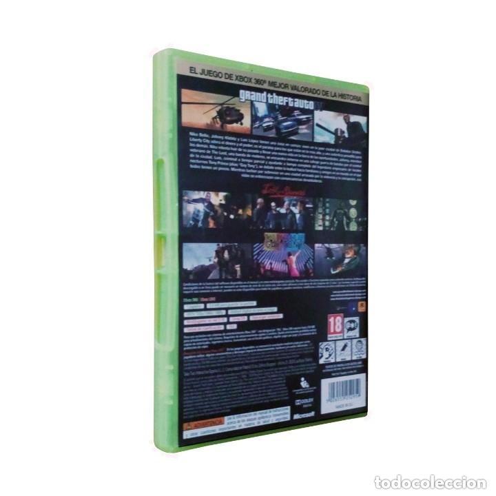 Videojuegos y Consolas: Grand Theft Auto IV / Liberty City / Juego Xbox 360 / PAL / Rockstar 2010 (La edición completa) - Foto 2 - 195524172