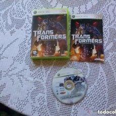 Videojuegos y Consolas: JUEGO XBOX 360 TRANSFORMERS LA GUERRA DE LOS CAIDOS. Lote 157989934