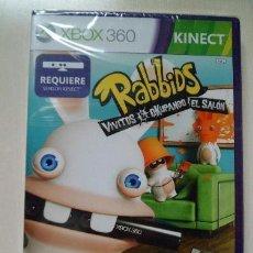 Videojuegos y Consolas: JUEGO XBOX 360 RABBIDS & VIVITOS OCUPANDO EL SALON. Lote 157989946