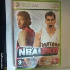 Videojuegos y Consolas: JUEGO XBOX 360 NBA 2K8. Lote 159910646