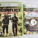 Videojuegos y Consolas: CONFLICT DENIED OPS XBOX 360 X360 X-360 KREATEN. Lote 160157450