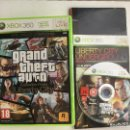 Videojuegos y Consolas: GRAND THEFT AUTO EPISODES FROM LIBERTY CITY GTA EXPANSIONS XBOX 360 X360 X-360 KREATEN. Lote 160157874