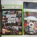 Videojuegos y Consolas: GRAND THEFT AUTO EPISODES FROM LIBERTY CITY GTA EXPANSIONS XBOX 360 X360 X-360 KREATEN. Lote 160158114